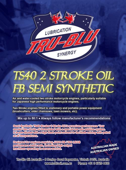 TS40 FB Semi-Synthetic 2 Stroke - Tru Blu Oil